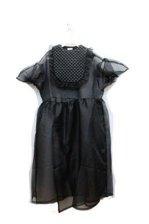 画像1: 2020春夏  フランキーグロウ    QUILTING DOT ORGANDY DRESS カラー;BLACK    サイズ;F(WOMEN)   (1)