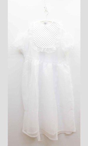 画像1: 30%off 2020春夏 フランキーグロウ    QUILTING DOT ORGANDY DRESS カラー;WHITE   サイズ;F(WOMEN)   (1)