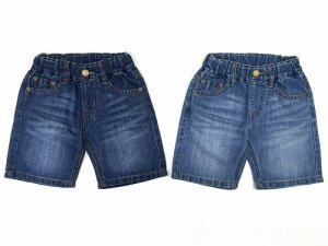 画像1: OCEAN&GROUND DENIM 5POCKET SHORTS (1)